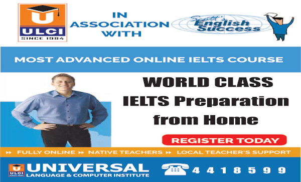 ULCI introduces online IELTS preparation class